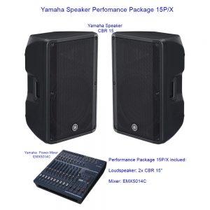 Yamaha Speaker Perfomance Package 15P/X
