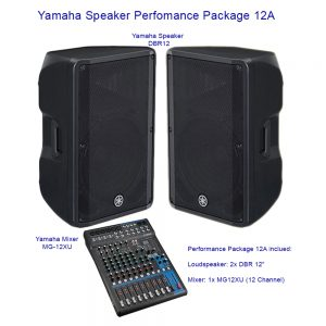 Yamaha Speaker Perfomance Package 12A