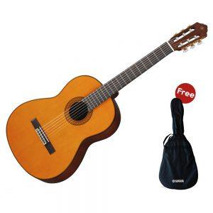 Yamaha Guitar Classical C-390 + Case