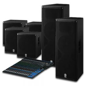Yamaha Speaker Premium Package 215A