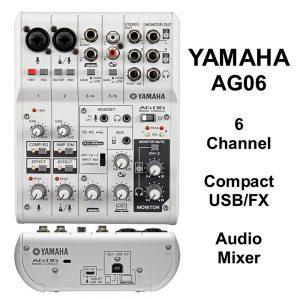 Yamaha Mixer AG-06