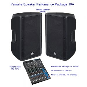 Yamaha Speaker Perfomance Package 10A
