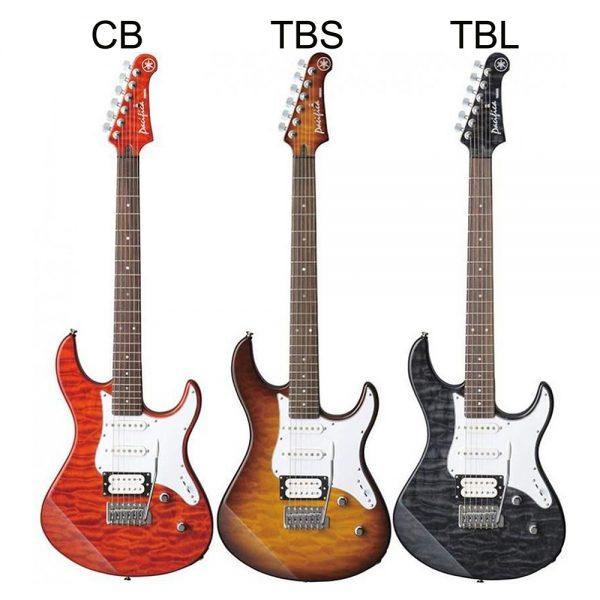 Yamaha Guitar Electric PAC-212VQM