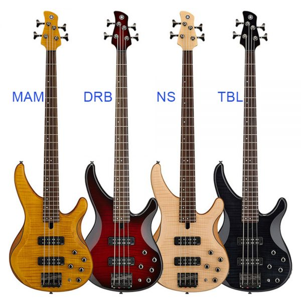 Yamaha Bass Electric TRBX-604FM