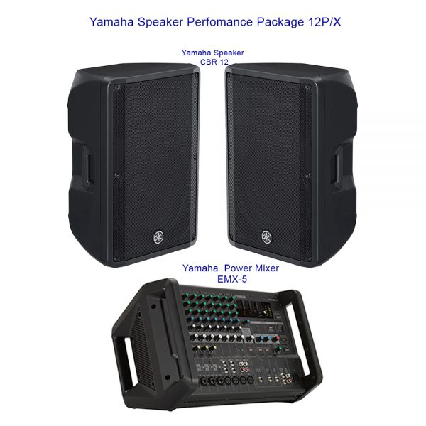 Yamaha Speaker Perfomance Package 12P/X