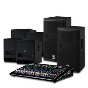 Yamaha Speaker Premium Package 418DX