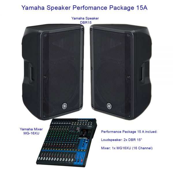 Yamaha Speaker Perfomance Package 15A