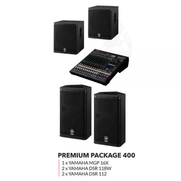 Yamaha Speaker Premium Package 400