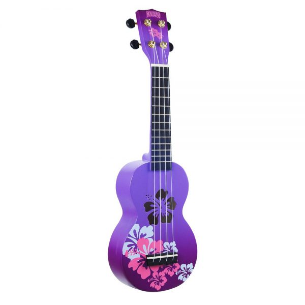 Mahalo Ukulele MD1HB PPB Purple Burst