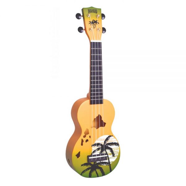 Mahalo Ukulele MD1HA GNB Green Burst