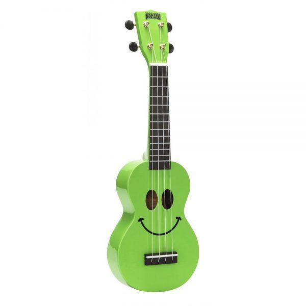 Mahalo Ukulele U-Smile GN Green