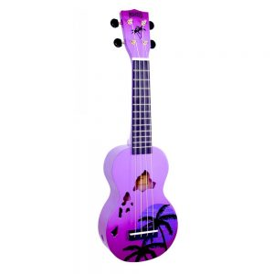 Mahalo Ukulele MD1HA PPB Purple Burst