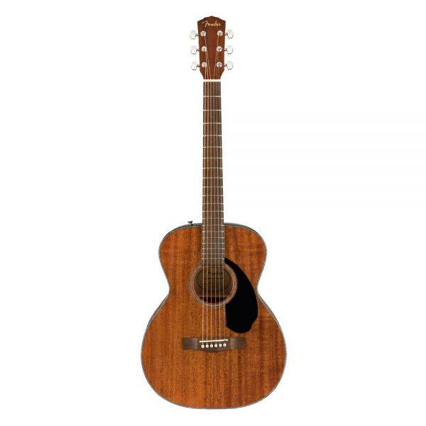 Fender CC-60S Concert Acoustic Guitar, Walnut FB, All-Mahogany