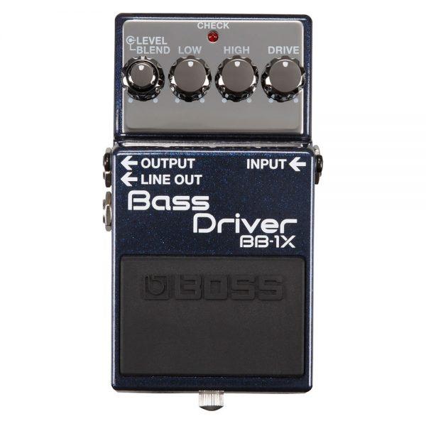 Boss BB-1X Bass Driver Pedal Guitar Effect