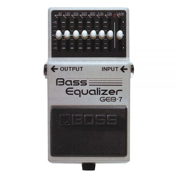 Boss GEB-7 Bass Equalizer Guitar Effect