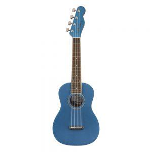 Fender Zuma Classic Concert Ukulele, Walnut FB, Lake Placid Blue
