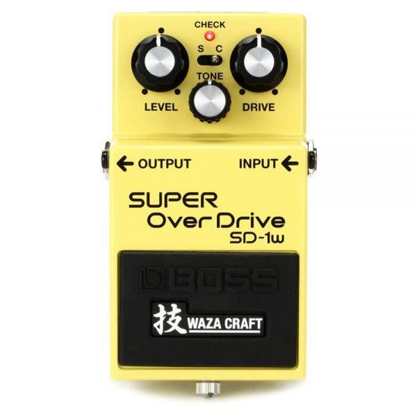 Boss SD-1W Super Overdrive Guitar Effect