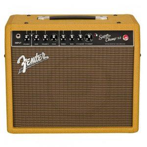 Fender 57 Custom Champ Guitar Tube Combo Amplifier, Tweed, 230V EUR