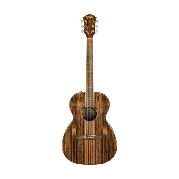 Fender FSR Ltd Ed FA-235E Striped Ebony Acoustic Guitar, Laurel FB