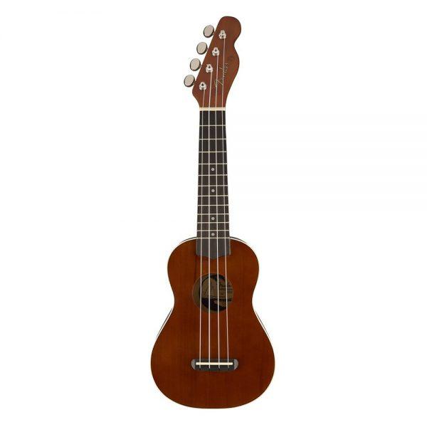 Fender Venice Soprano Ukulele, Walnut FB, Natural
