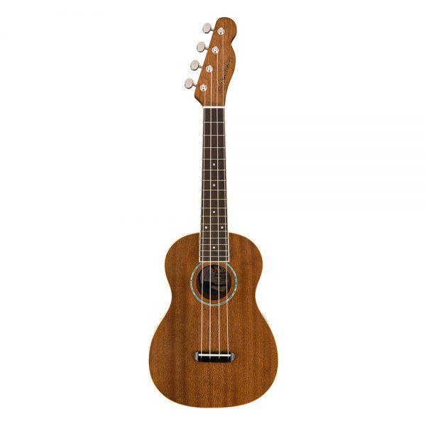 Fender Zuma Concert Ukulele, Walnut FB, Natural