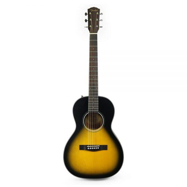Fender CP-100 Parlor Acoustic Guitar, Sunburst