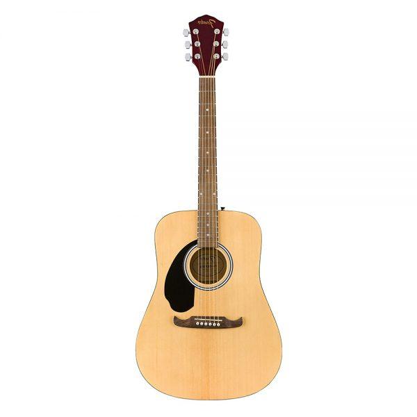 Fender FA-125 Dreadnought Guitar Pack w-bag, Walnut FB, Natural