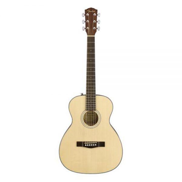 Fender CT-60S Travel Acoustic Guitar, Walnut FB, Natural