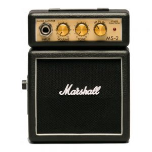 Marshall MS-2 Guitar Ampli Mini Black/Red/Classic)
