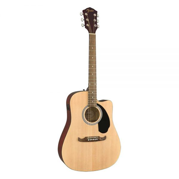 Fender FA-125CE Dreadnought Guitar Pack, Walnut FB, Natural