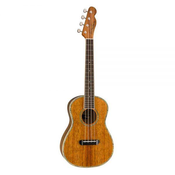 Fender Montecito Tenor Ukulele w-Bag, Walnut FB, Natural