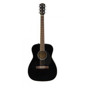 Fender CC-60S Concert Acoustic Guitar Pack V2, Walnut FB, All-Mahogany