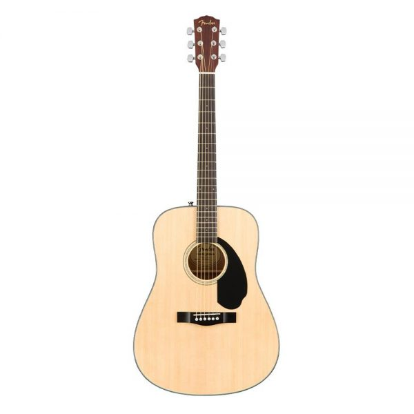 Fender CD-60S Dreadnought Acoustic Guitar Pack V2, Walnut FB, Natural