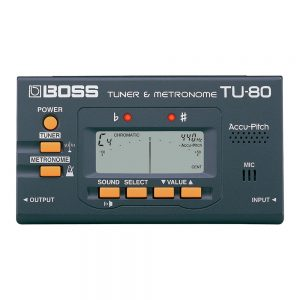 Boss TU-80-WH Tuner  Chromatic