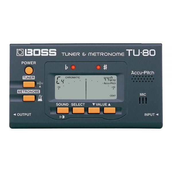 Boss TU-80-WH Tuner  Chromatic