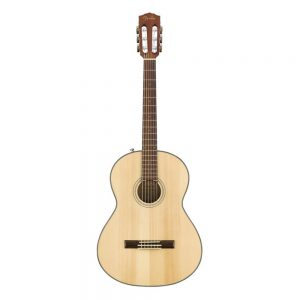 Fender CN-60S Nylon String Classical Guitar, Laurel FB, Natural