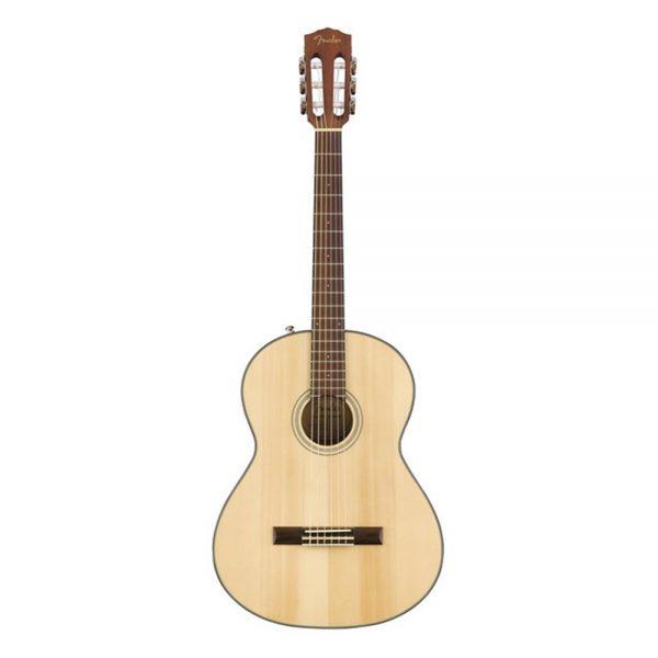 Fender CN-60S Nylon String Classical Guitar, Laurel FB, Natural