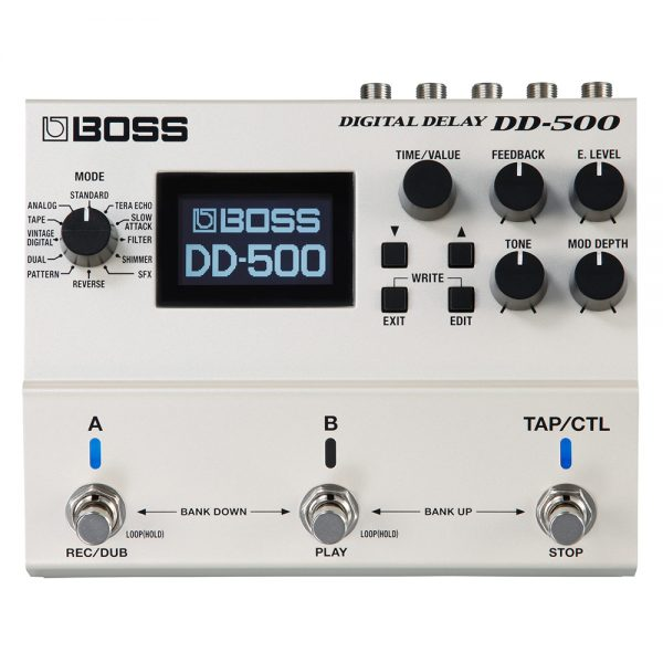 Boss DD-500 Digital Delay Pedal Guitar Effect