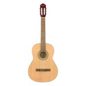 Fender FC-1 Classical Guitar, Walnut FB, Natural