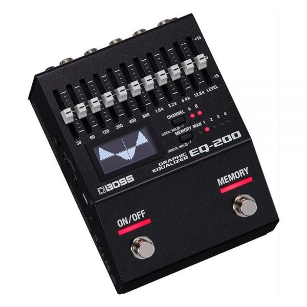 Boss EQ-200 Equalization Guitar Effect Processor