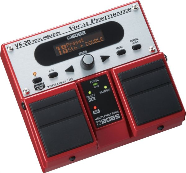 Boss VE-20 Twin Pedal Voice Effects Processor