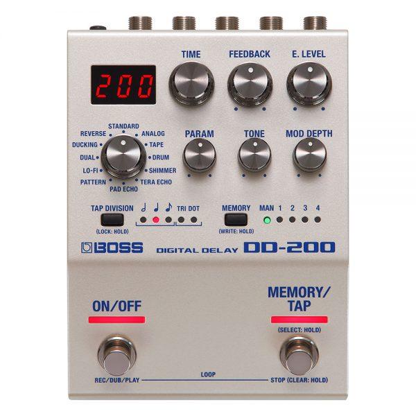 Boss DD-200 Digital Delay Guitar Effect Processor