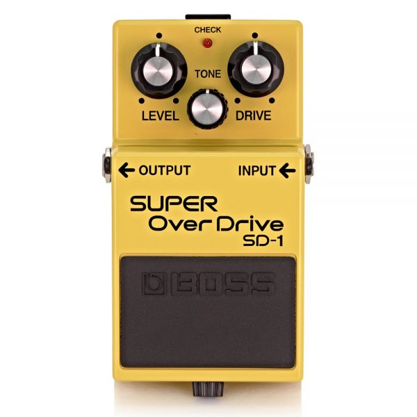 Boss SD-1 Super Overdrive Guitar Effect