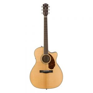 Fender PM-4CE Ltd Ed Auditorium Acoustic Guitar w-Cutaway & Electronics, Natural