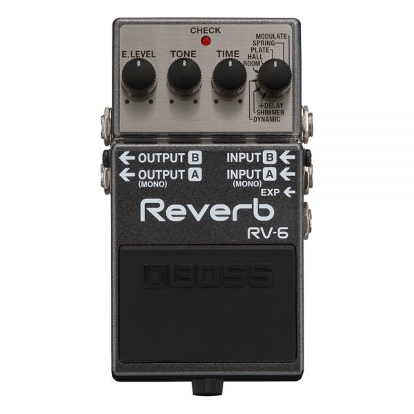 Boss RV-6 Synth Processor Guitar Effect