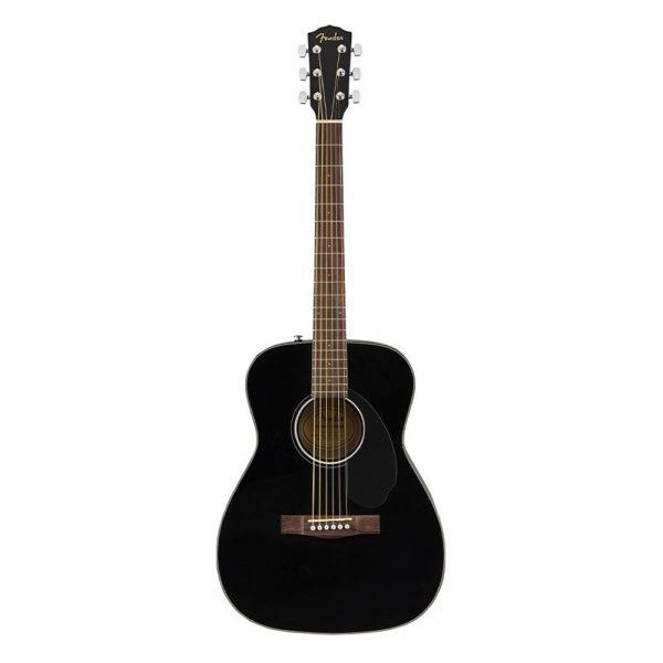 Fender CC-60S Concert Acoustic Guitar Pack, Black