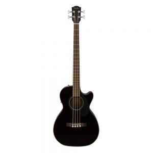 Fender CB-60SCE Acoustic Bass, Black