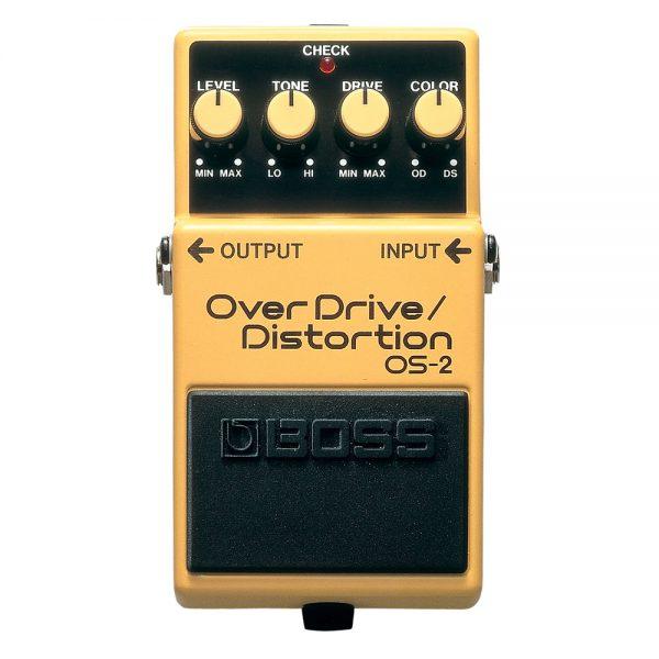 Boss OS-2 Overdrive / Distortion Guitar Effect