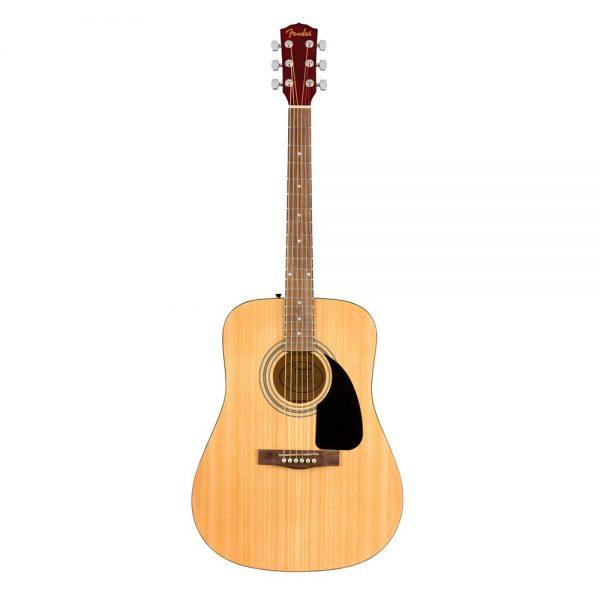 Fender FA-115 Dreadnought Guitar Pack V2, Walnut FB, Natural