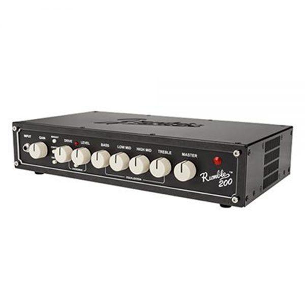 Fender Rumble 200 V3 Bass Head Guitar Amplifier, 230V EUR